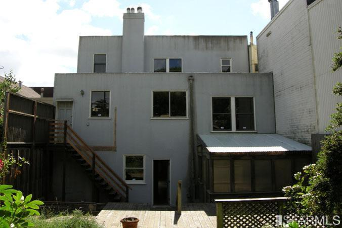 2012 Back of the house