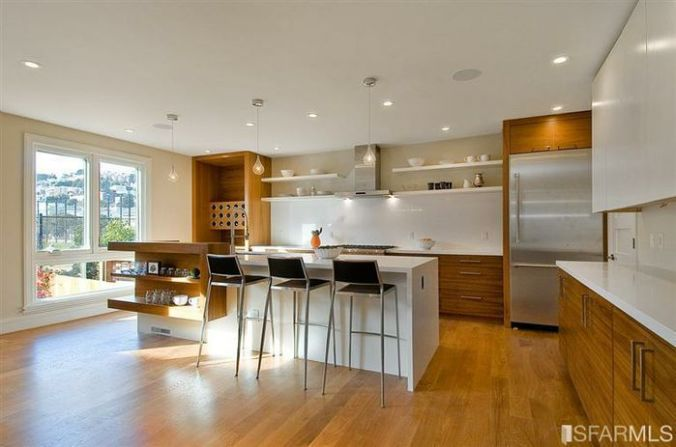 photo of the new kitchen at 1774 Church street
