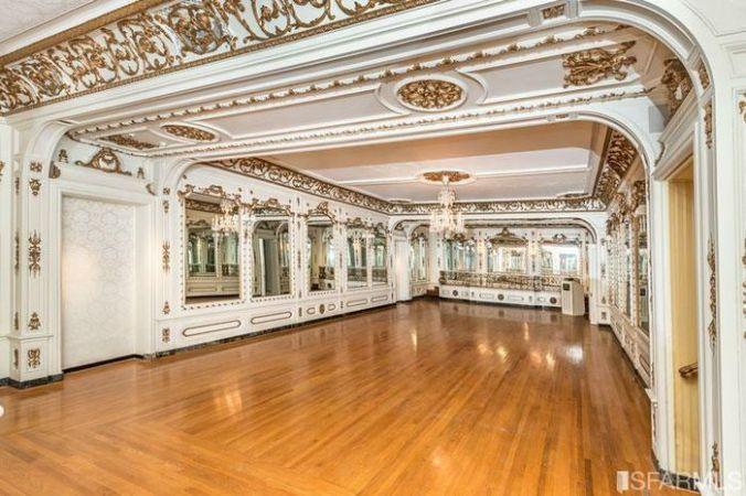 photo of the ballroom in 3800 washington street, san francisco, ca
