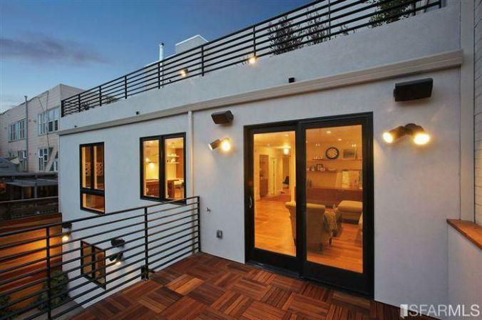 2 Separate Decks to enjoy the city views