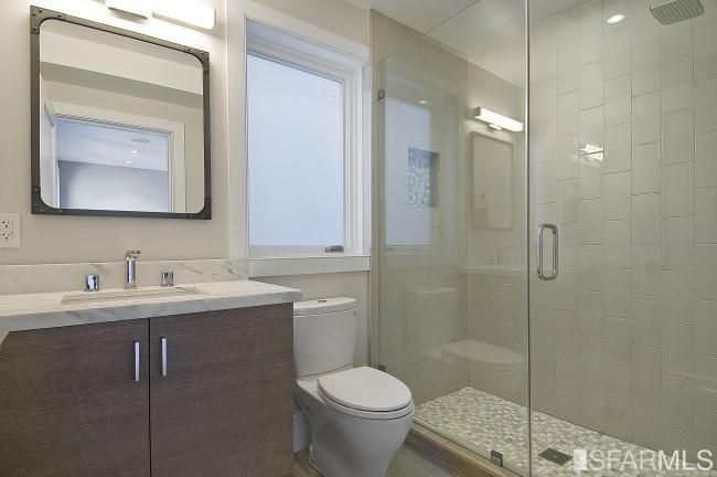 New Bathroom at 1632 Dolores St.