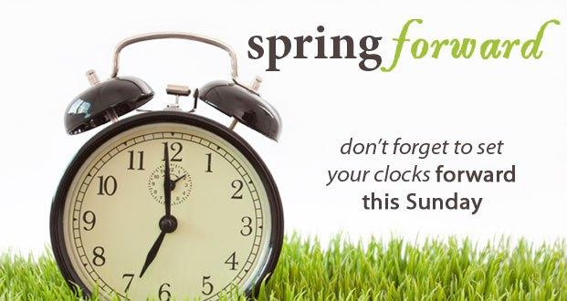 Daylight Savings Time March 9 2014