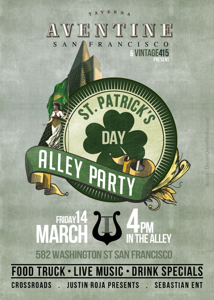 St.Pattys Day Party in San Francisco