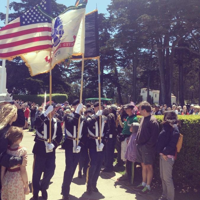 2014 Memorial Day Ceremony  in San Francisco