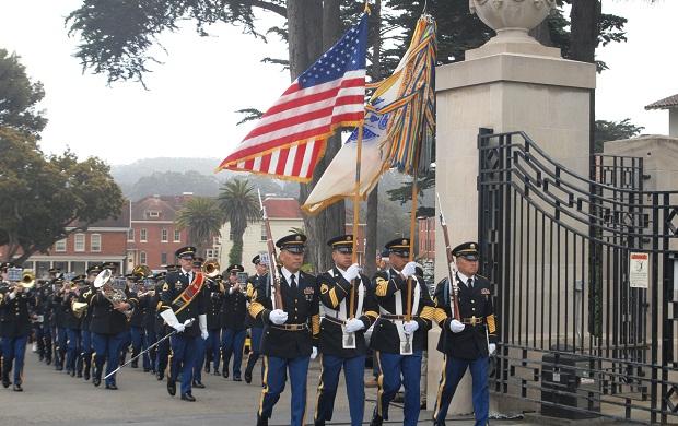 Memorial Day 2014 Ceremony in Presidio