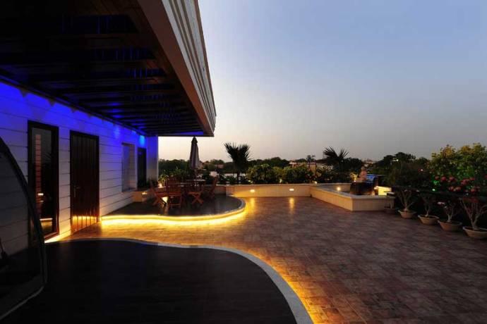 outdoor patio rope lighting