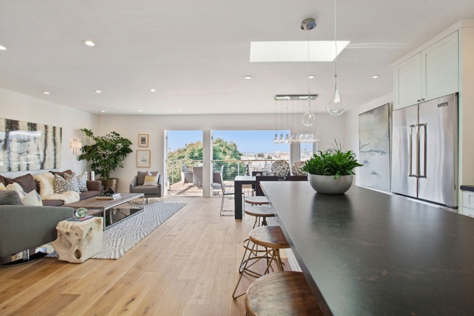 Bernal Heights Kitchen with Views