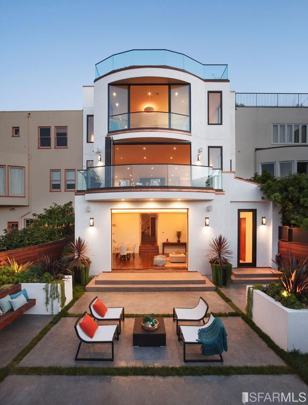 Sf modern luxury local san francisco real estate updates for Modern homes san francisco