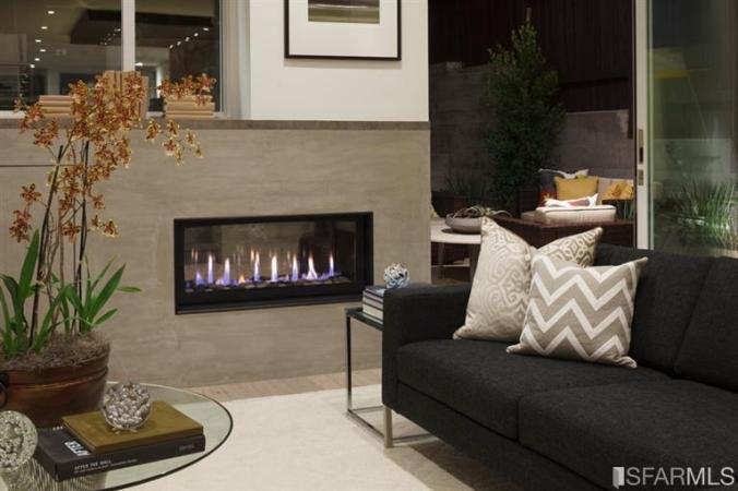 indoor luxury fireplace